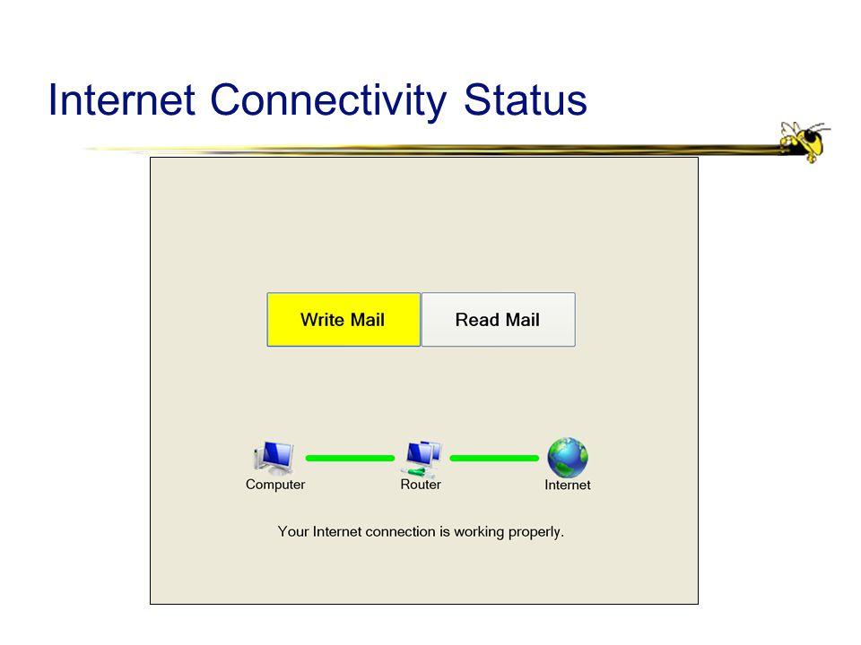 Internet Connectivity Status