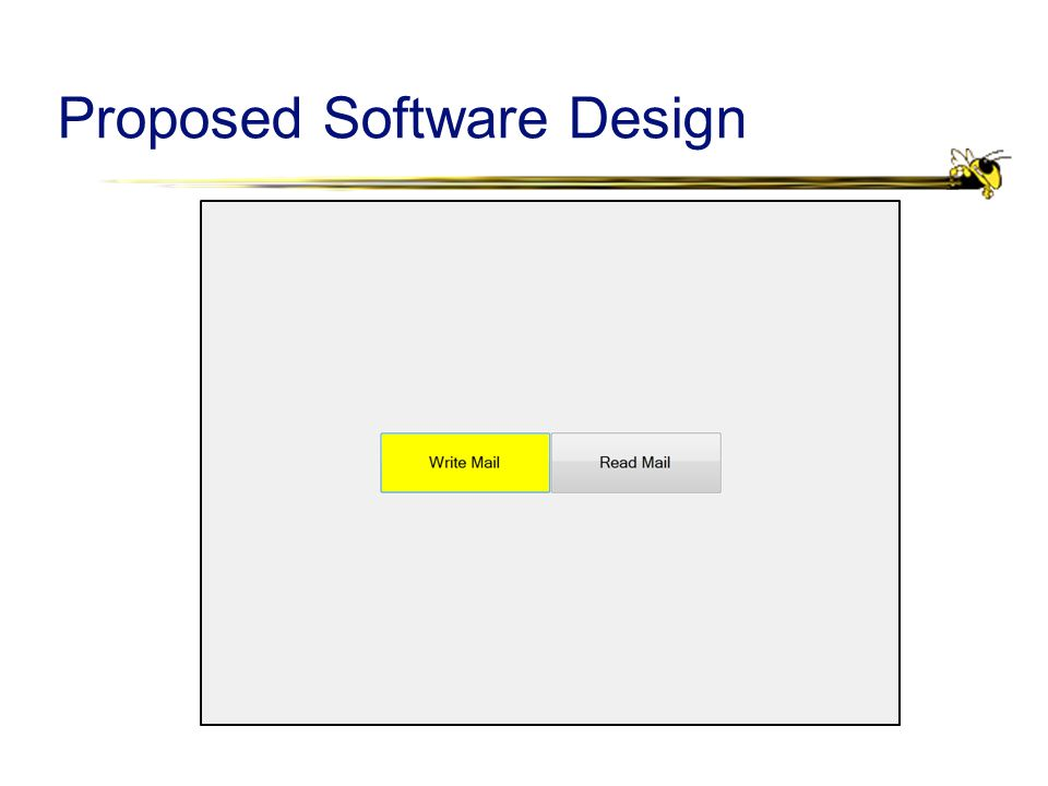 Proposed Software Design