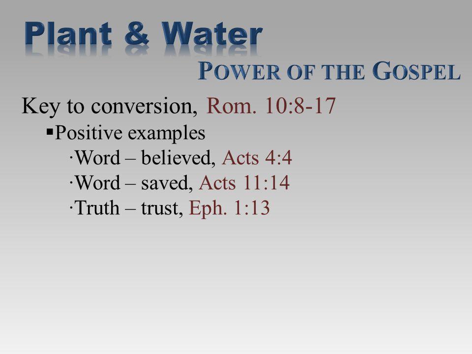 Work as a body to grow, 1 Cor.