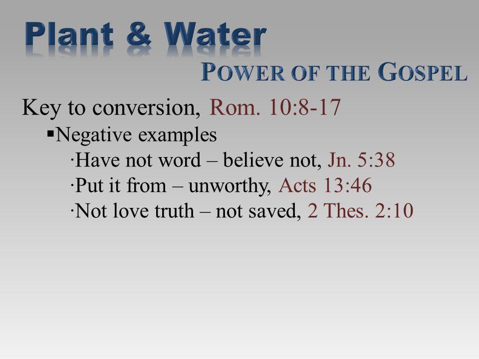Gospel calls men, 2 Thes.