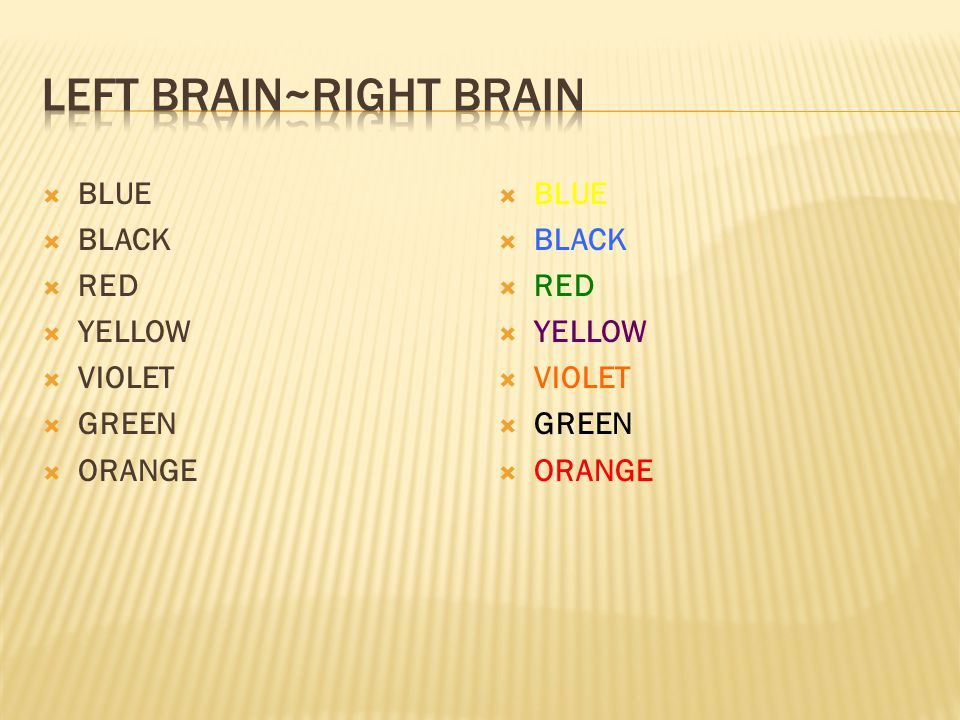  BLUE  BLACK  RED  YELLOW  VIOLET  GREEN  ORANGE  BLUE  BLACK  RED  YELLOW  VIOLET  GREEN  ORANGE