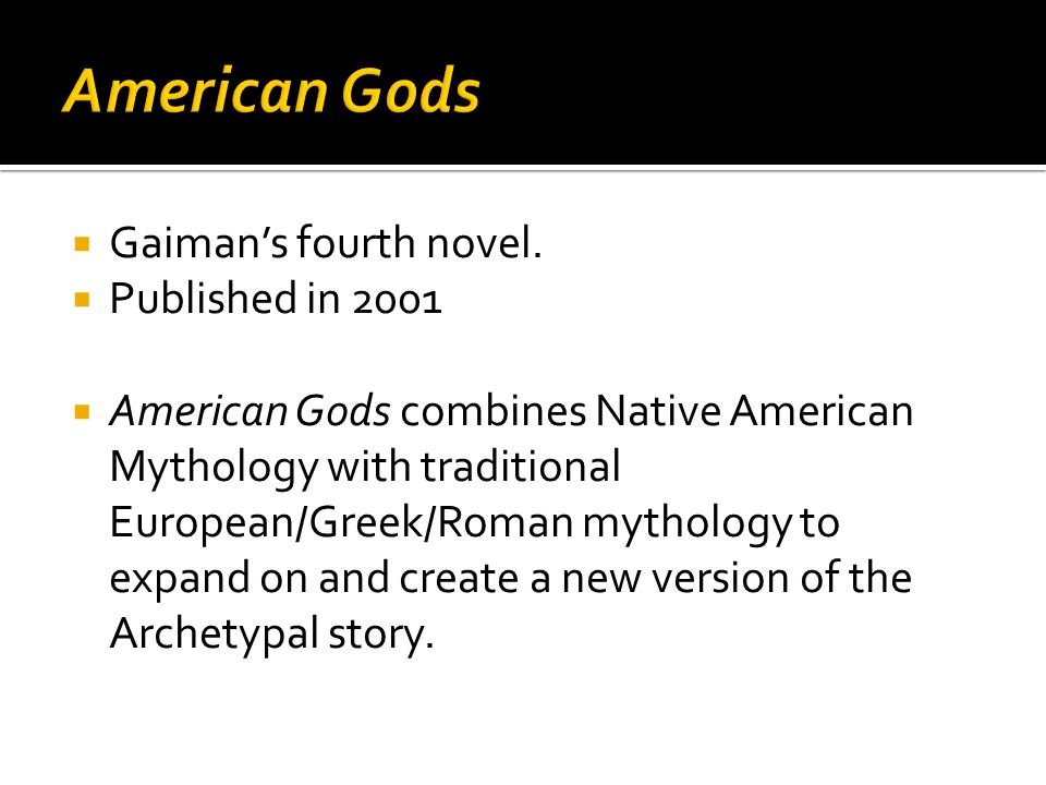  The central concept is that gods and mythological creatures exist because people believe in them.