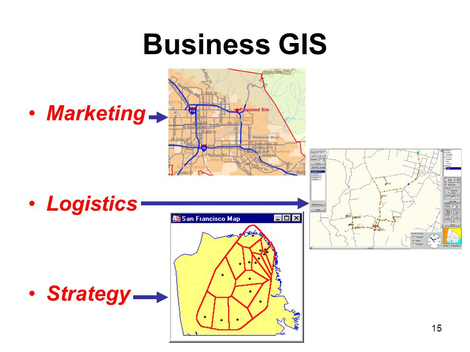 Business GIS Marketing Logistics Strategy 15