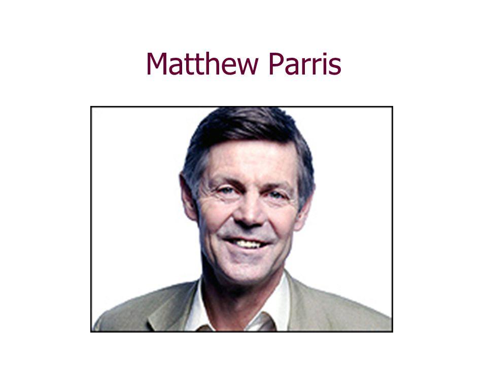 Matthew Parris