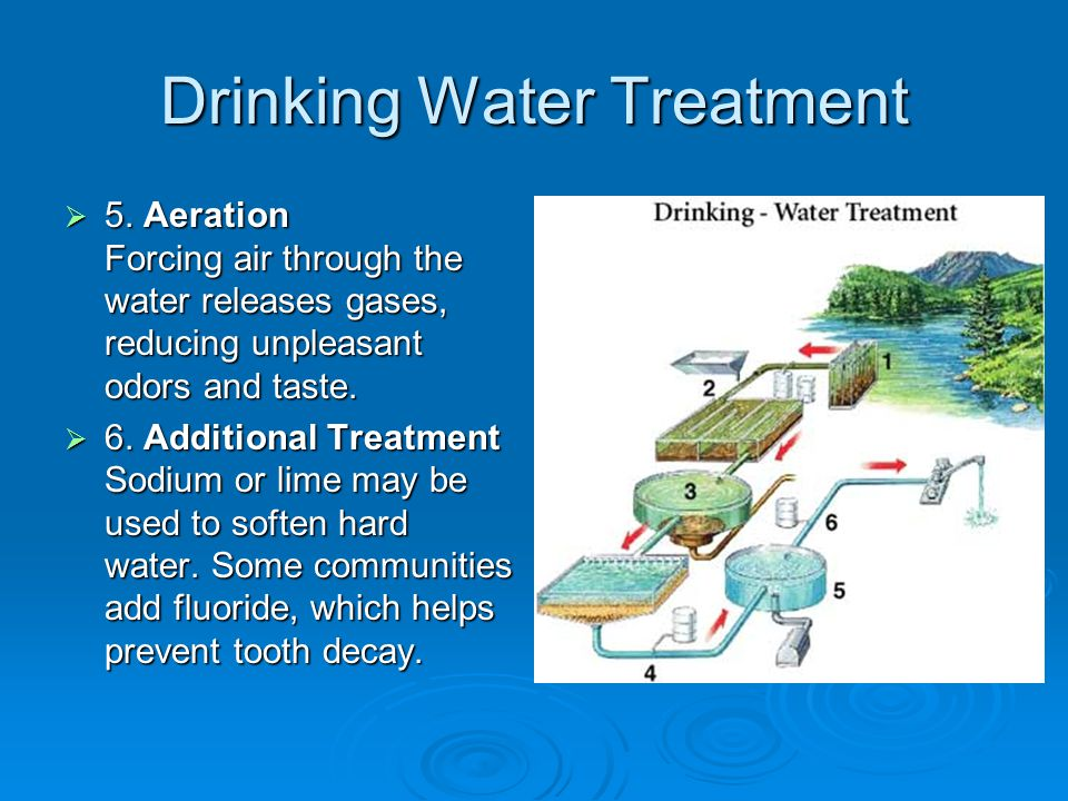 Drinking Water Treatment  5.