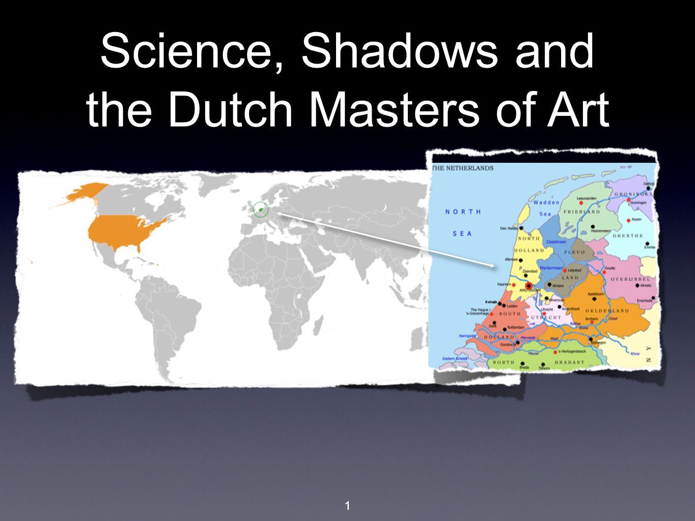 1 Science, Shadows and the Dutch Masters of Art