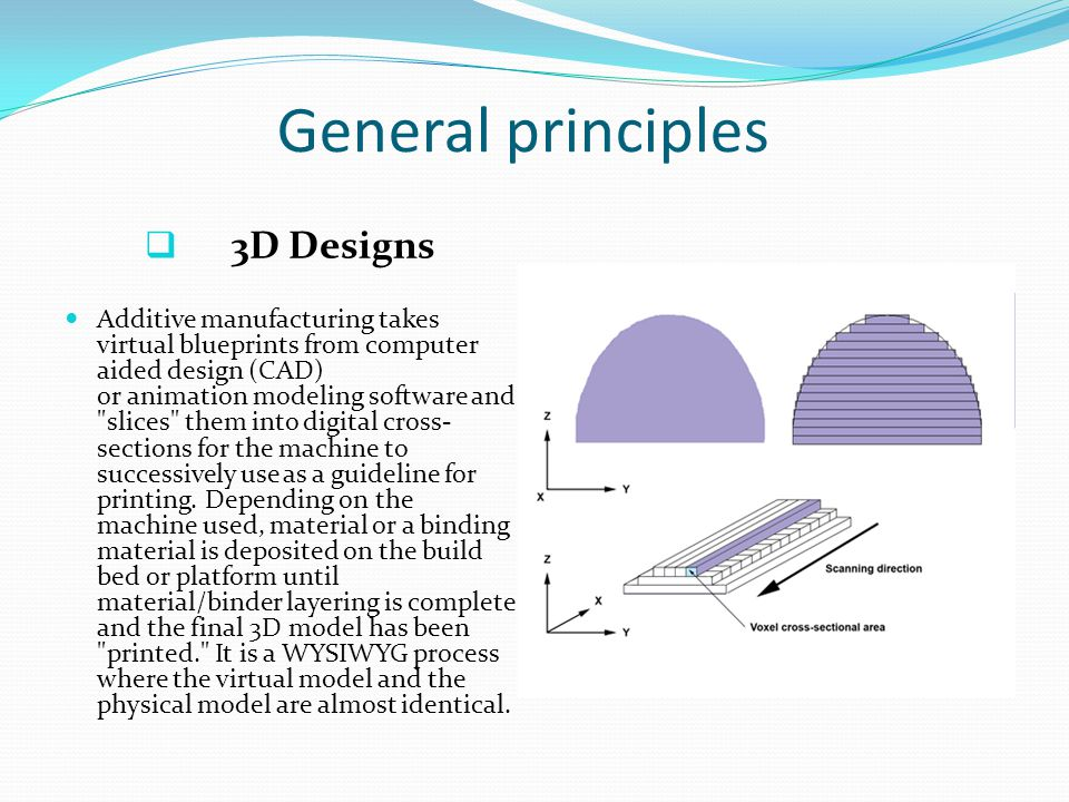 The standard data interface between CAD software and the machines is the STL file format.