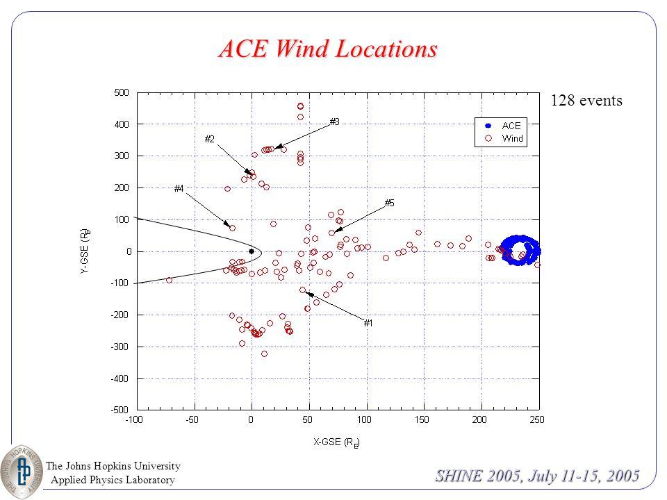 The Johns Hopkins University Applied Physics Laboratory SHINE 2005, July 11-15, 2005 Heavy Ion Spectral Signature Desai et al., 2004