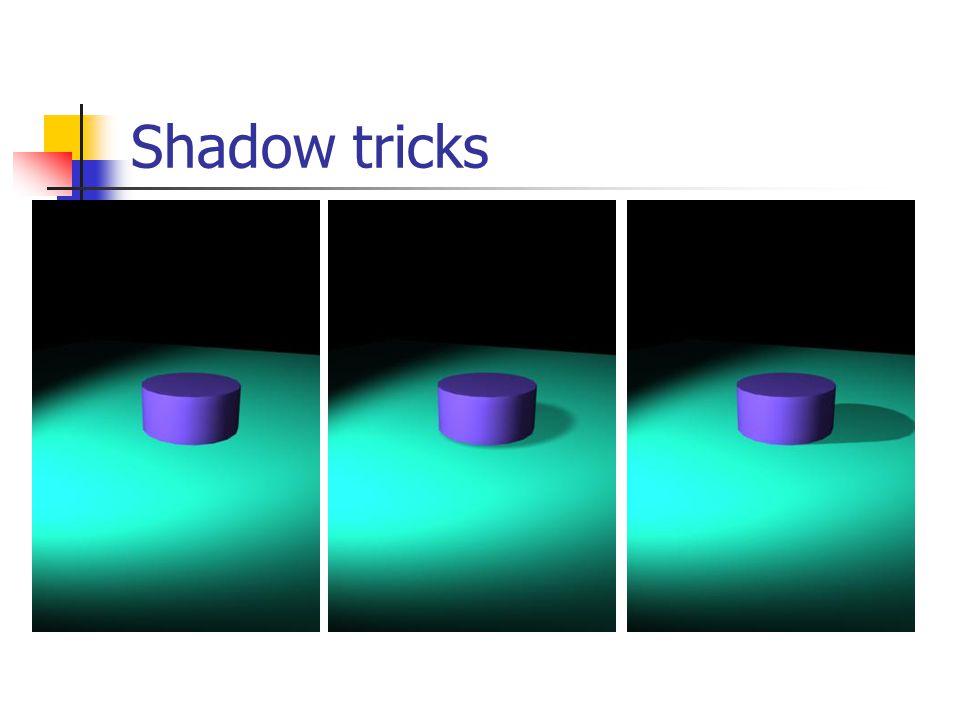 Shadow tricks