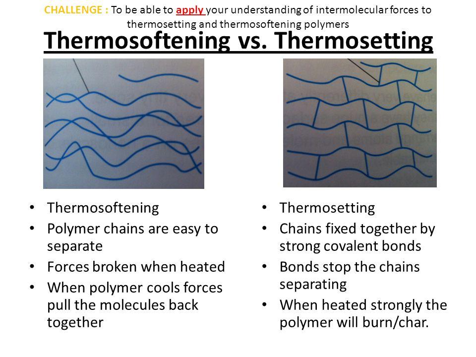 Thermosoftening vs.