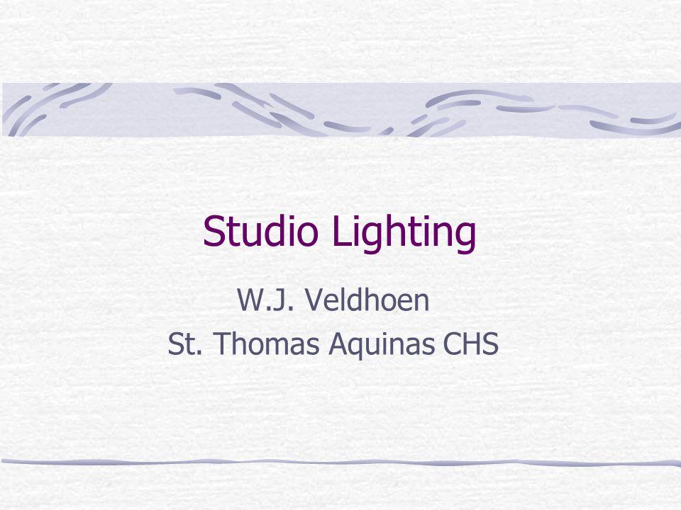 Studio Lighting W.J. Veldhoen St. Thomas Aquinas CHS
