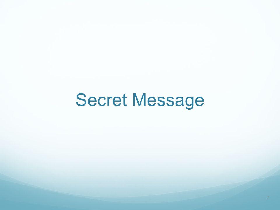 Secret Message 7