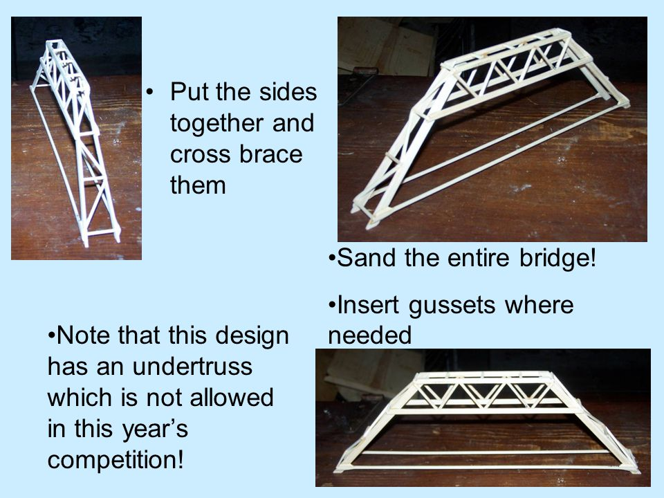 Baking Your Bridge.You can loose A LOT of water mass by baking your bridge.