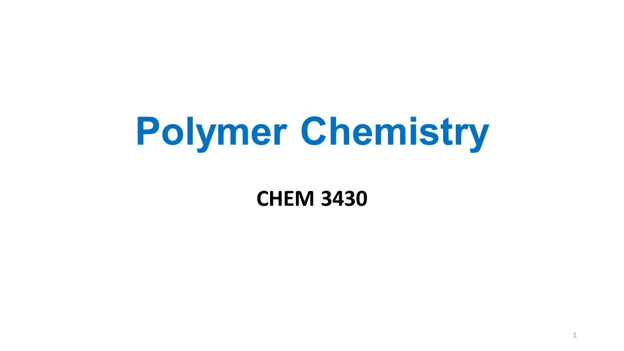 Classification of Polymer: 3. by Composition 22