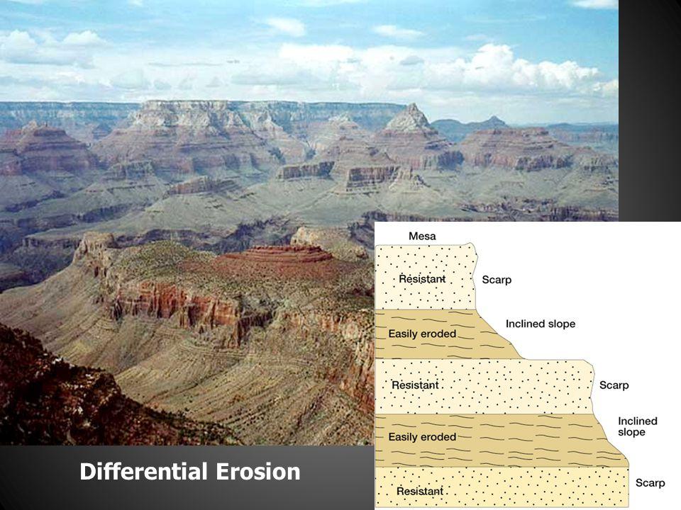 Differential Erosion