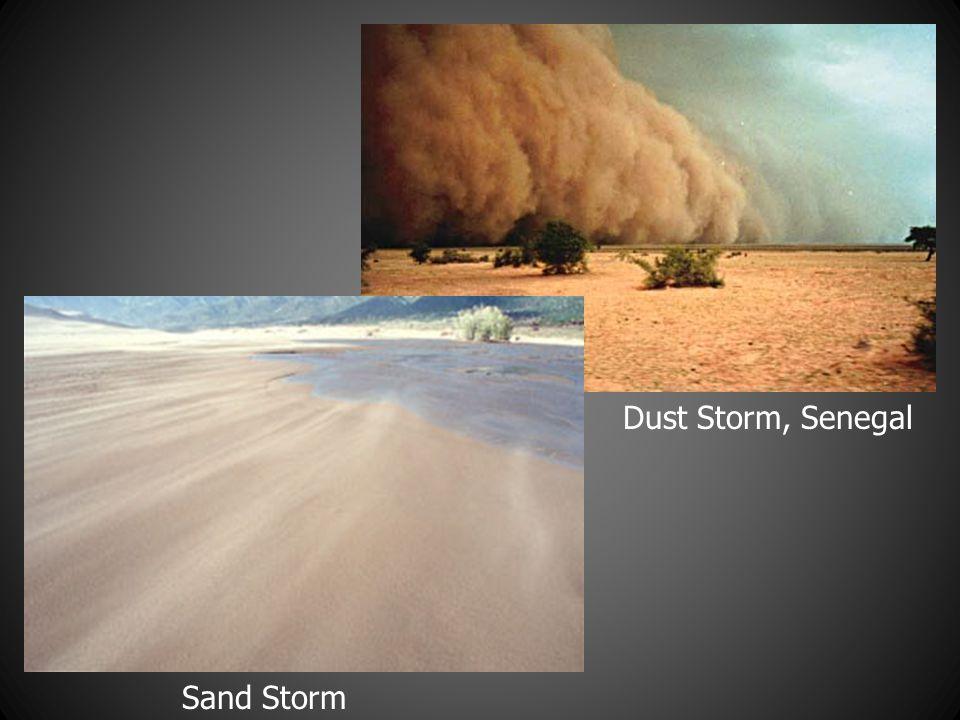 Dust Storm, Senegal Sand Storm