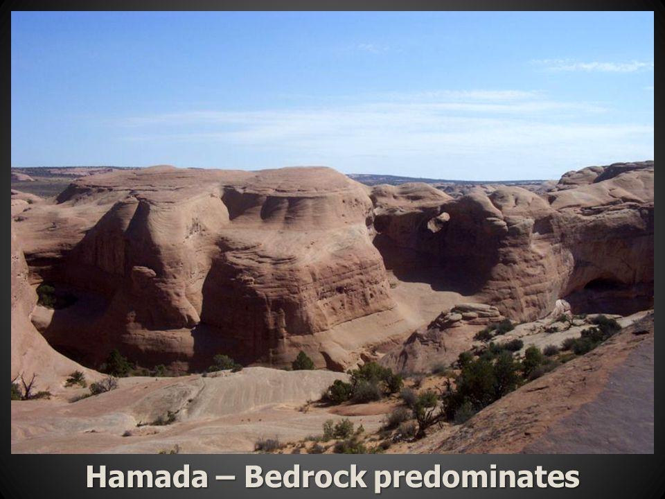 Hamada – Bedrock predominates