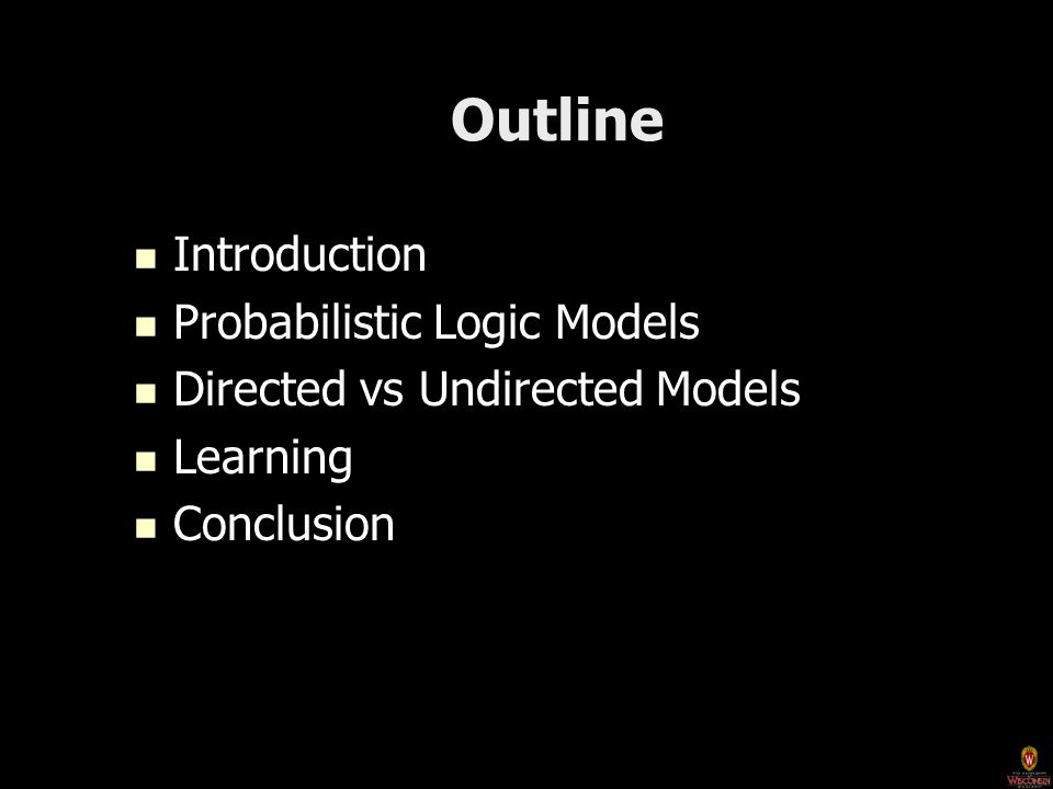 Directed Models vs.