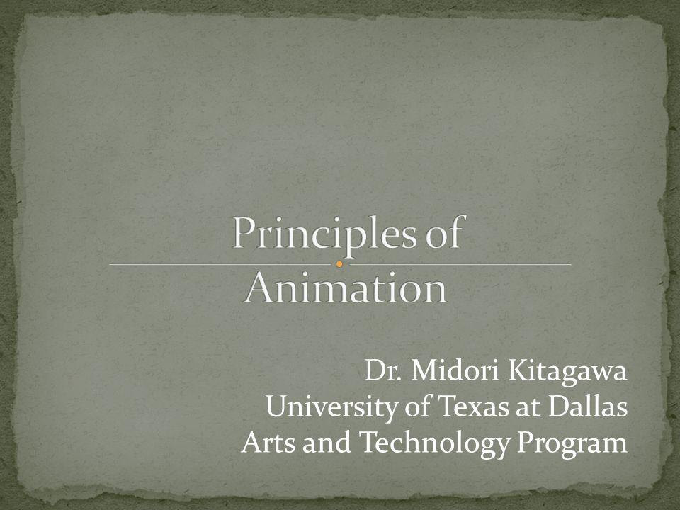 Dr. Midori Kitagawa University of Texas at Dallas Arts and Technology Program