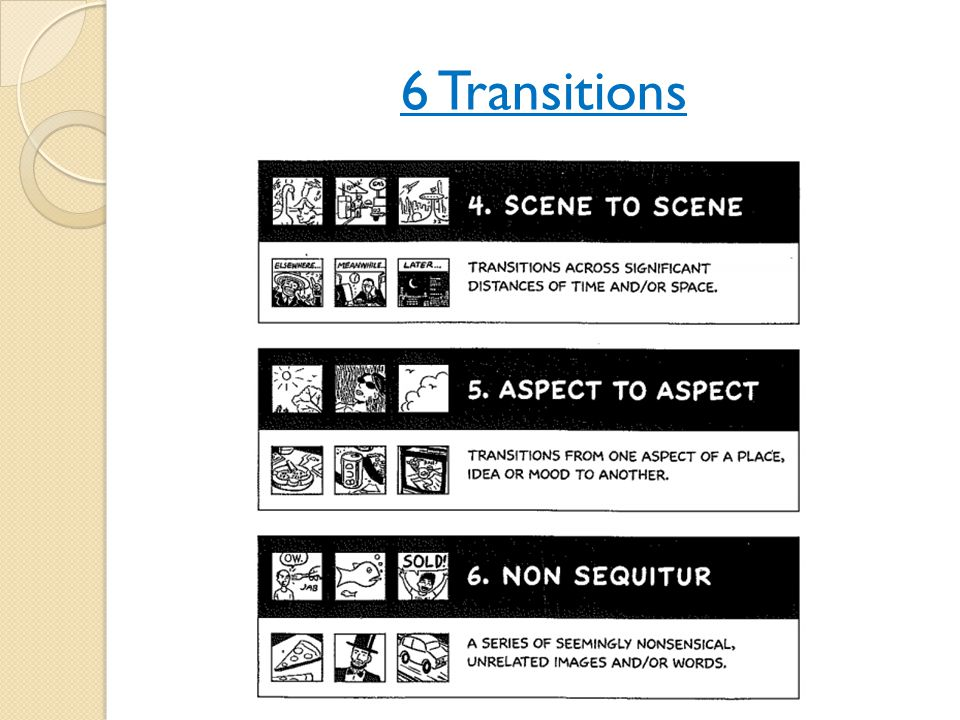6 Transitions