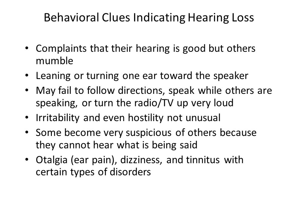 Impact of Hearing Impairment People with severe hearing impairment probably suffer the most severe social isolation of those with sensory disorders