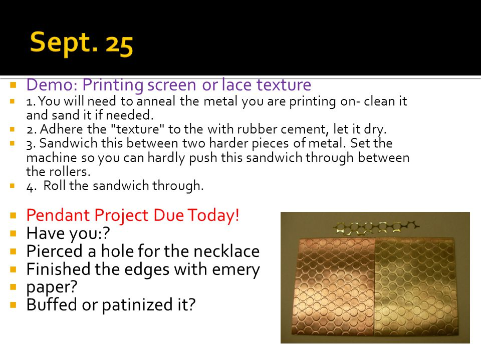  Demo: Printing screen or lace texture  1.