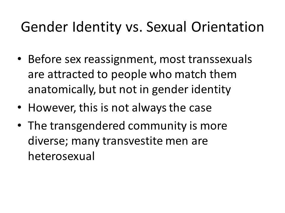 Gender Identity vs.