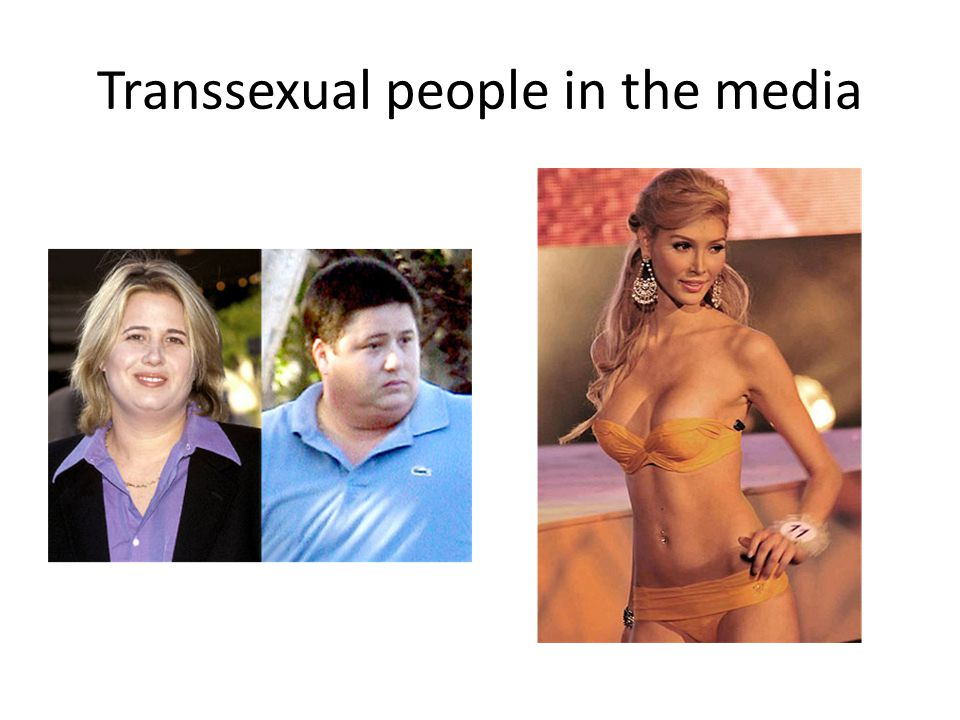 Transsexual people in the media