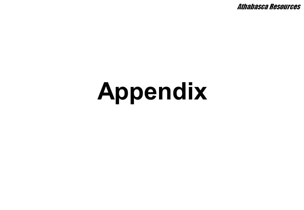 Appendix Athabasca Resources