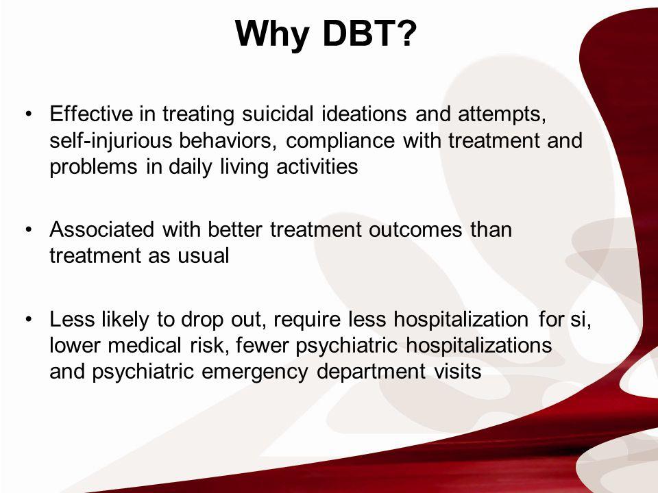 Why DBT.