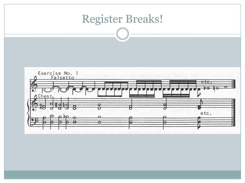 Register Breaks!