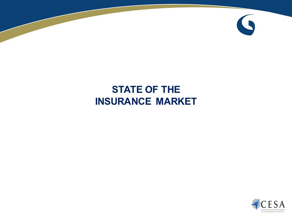 STATE OF THE INSURANCE MARKET