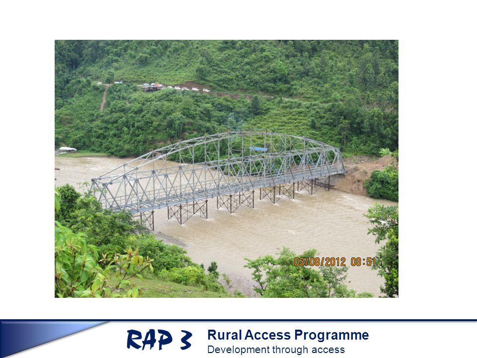 Rural Access Programme Development through access