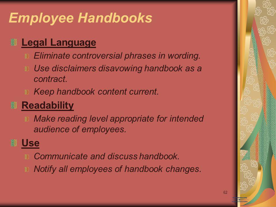 14–63 Handbook Acknowledgement Form