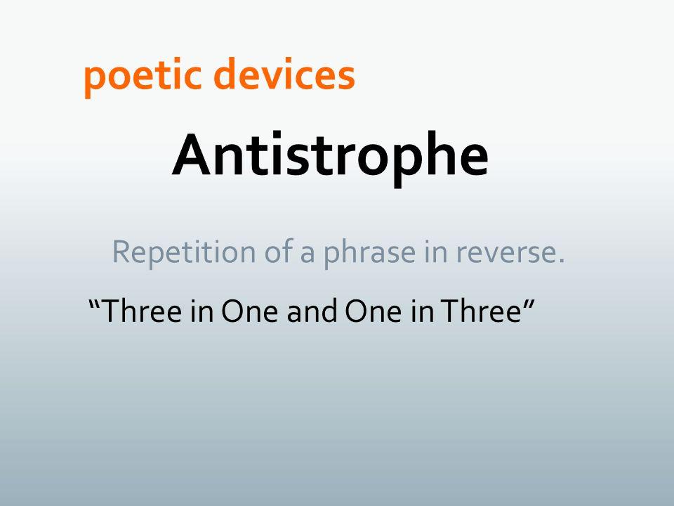 Antistrophe