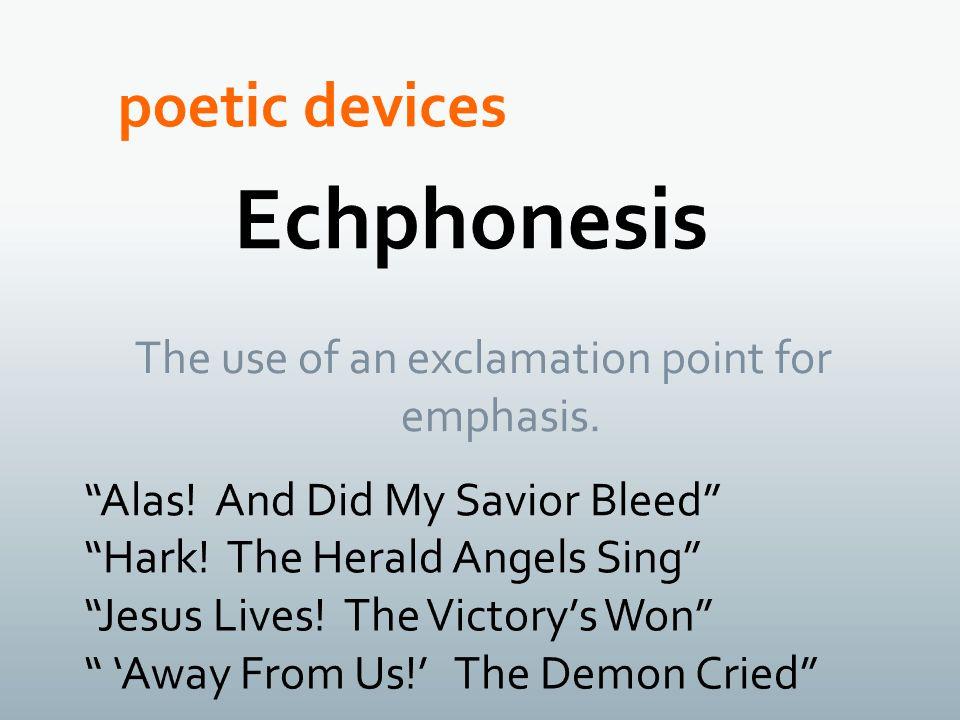Echphonesis