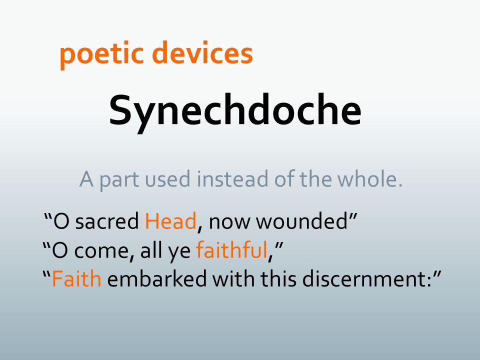 Synechdoche