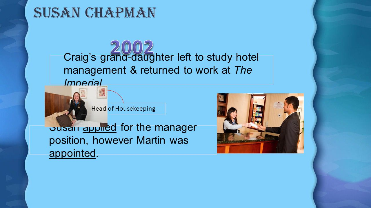 Craig chapman Humanitarian Motivations Opened an orphanage After independence stayed to work for other non-profit organizations.