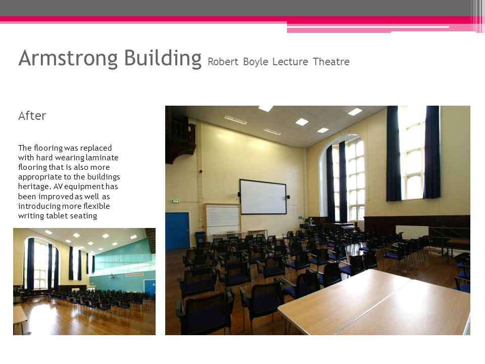Daysh Building Lecture Theatre G.05 Before