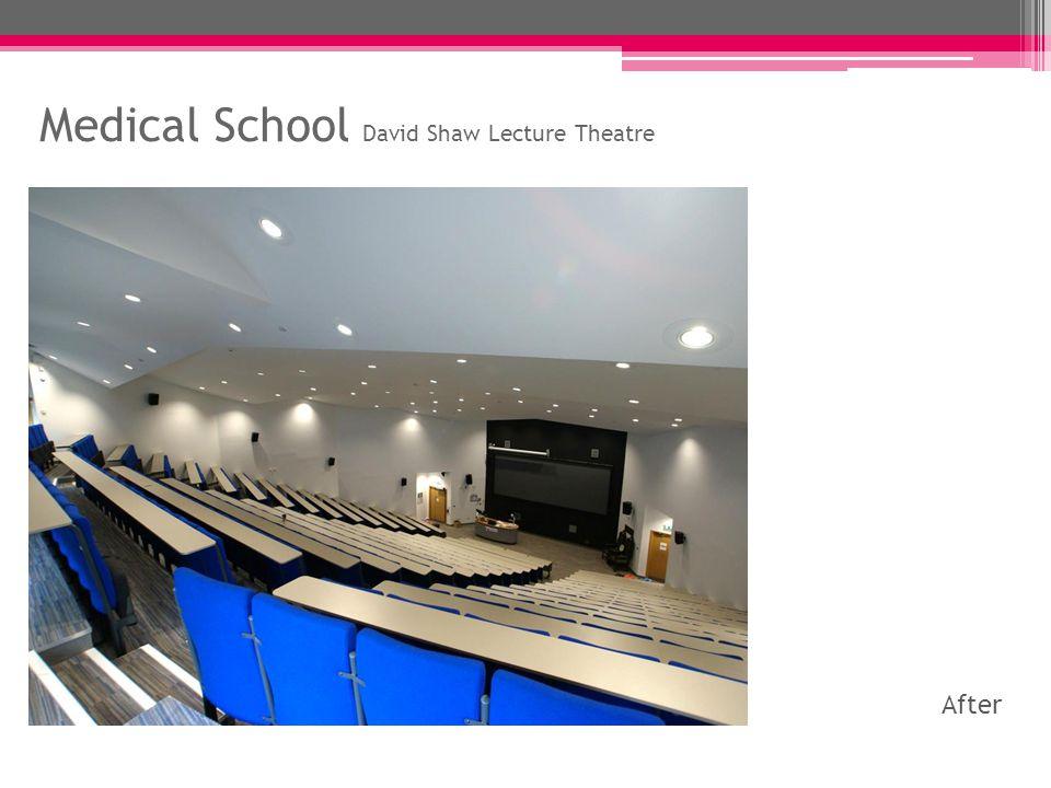 Politics Building Seminar Room G22 Before After