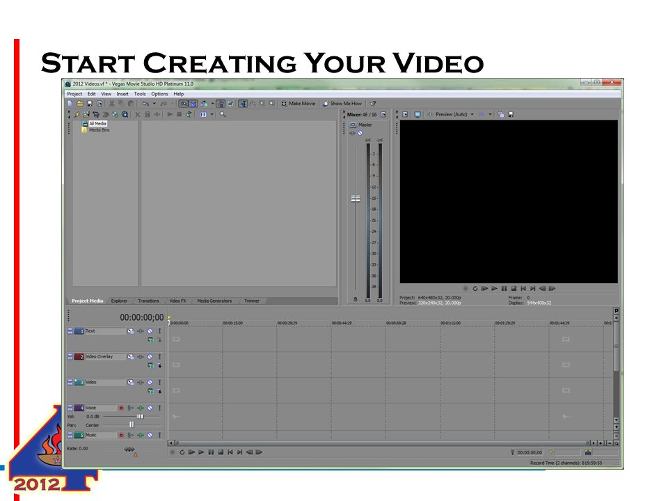Start Creating Your Video