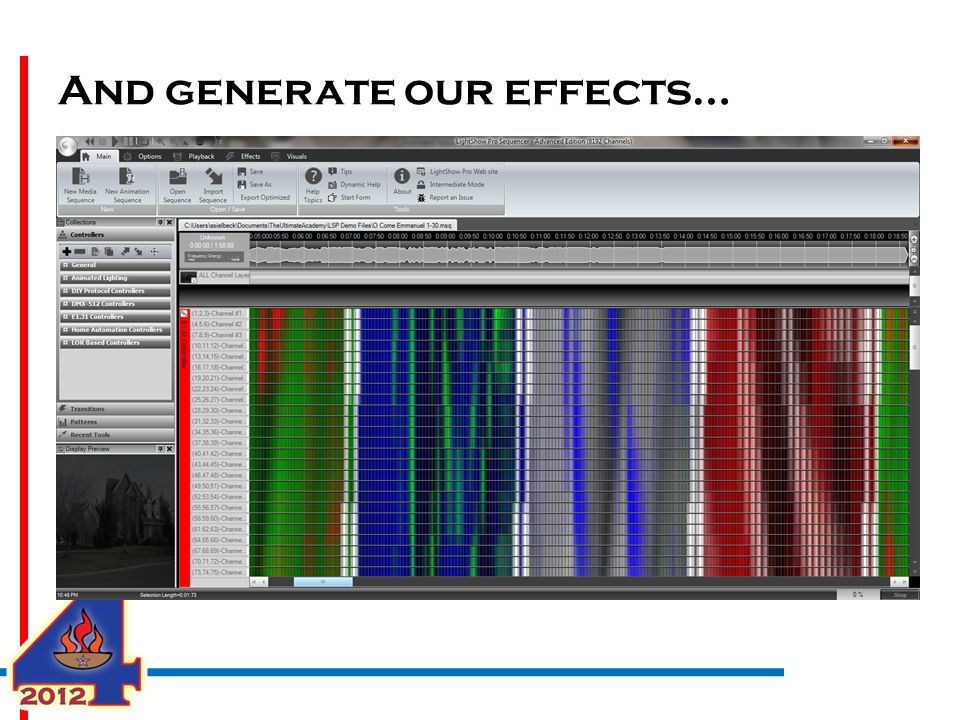 And generate our effects…