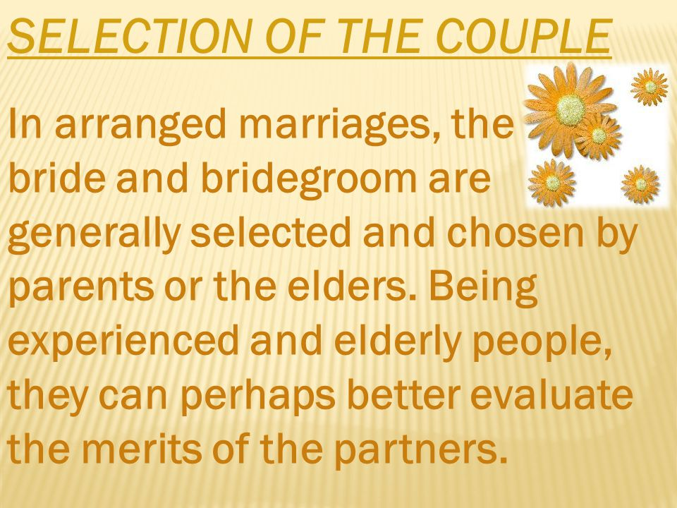 THE BETROTHAL When the selection of the boy for a bridegroom and of the girl for the bride have been investigated and the betrothal decided on, an auspicious day is fixed for its celebration.