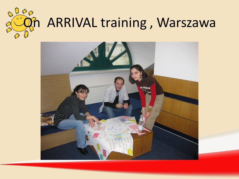 On ARRIVAL training, Warszawa