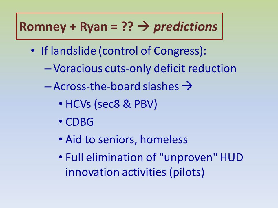 Romney + Ryan = ?.