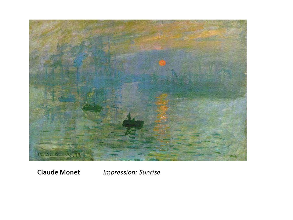 Claude Monet: Rouen Cathedral; Full Sunlight.