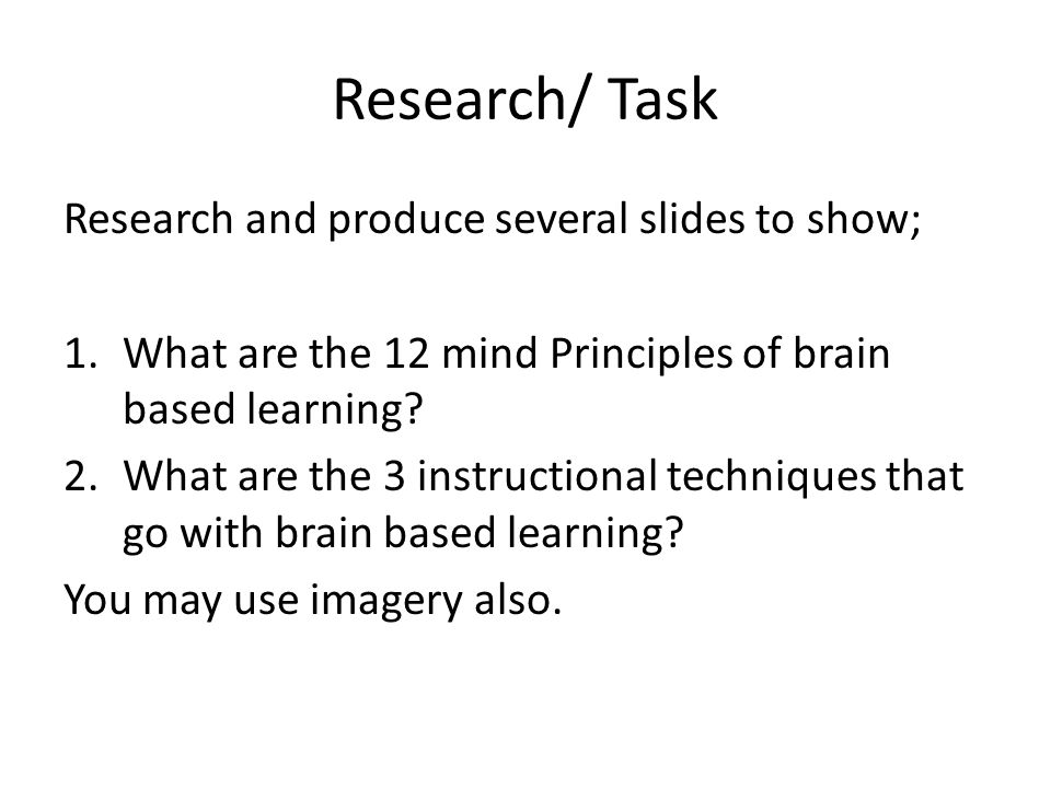 Research Guy Claxton/Task What are the 4 rs involved in exercising the brain .