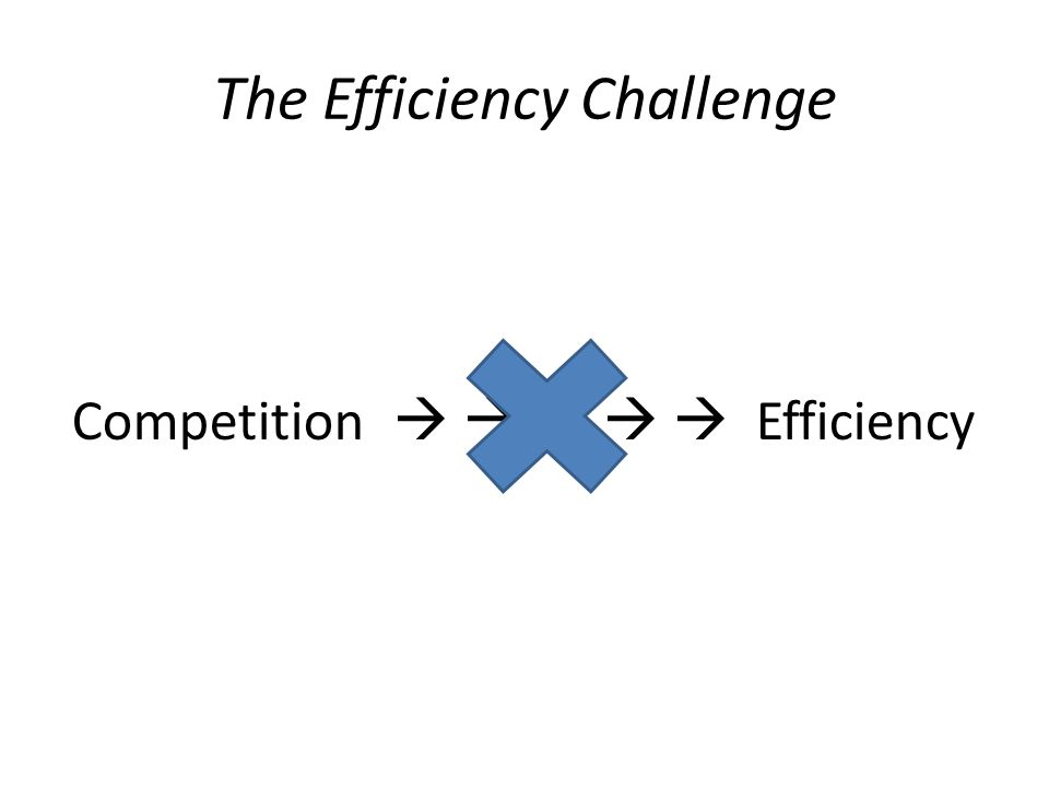 The Efficiency Challenge Competition      Efficiency