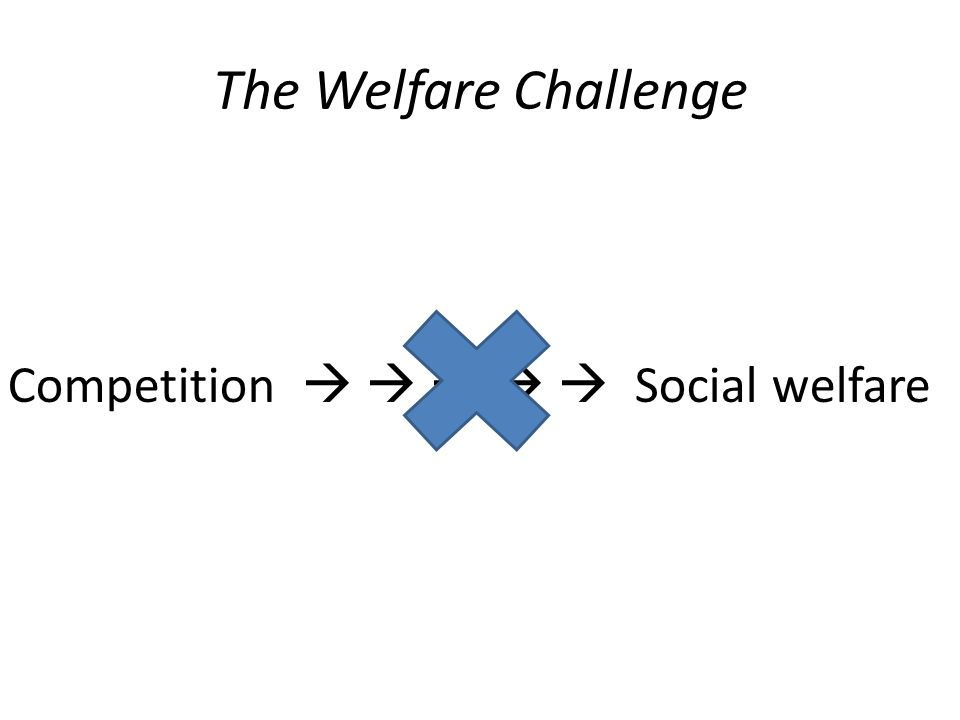 The Welfare Challenge Competition      Social welfare