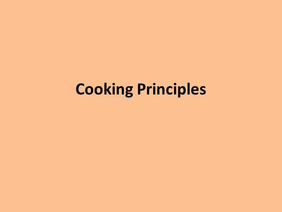 Cooking Principles